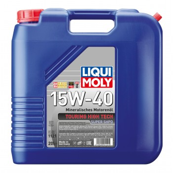 LIQUI MOLY Touring High Tech Super SHPD 15W40 20л 1121