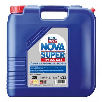 LIQUI MOLY Nova Super 15W40 20л 1432