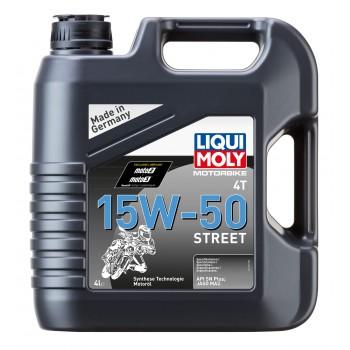 LIQUI MOLY Motorbike 4T Synth Street 15W50 4л 1689