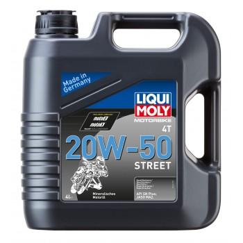 LIQUI MOLY Motorbike 4T Street 20W50 4л 1696