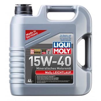 LIQUI MOLY MoS2 Leichtlauf 15W40 4л 1949