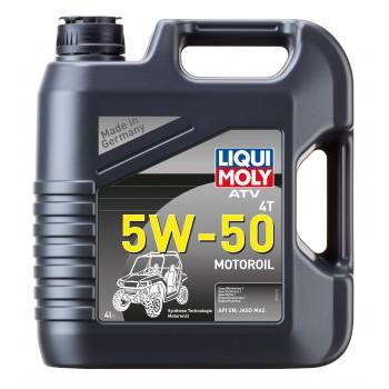 LIQUI MOLY ATV 4T Motoroil 5W50 4л 20738