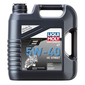 LIQUI MOLY Motorbike 4T Synth Street 5W40 4л 20751