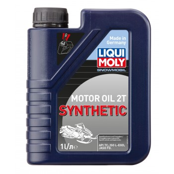 LIQUI MOLY Snowmobil Motoroil 2T Synthetic 1л 2382