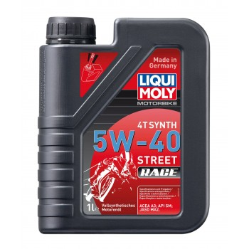 LIQUI MOLY Motorbike 4T Synth Street Race 5W40 1л 2592