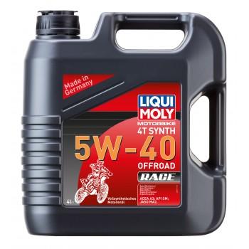 LIQUI MOLY Motorbike 4T Synth 5W40 Offroad Race 4л 3019