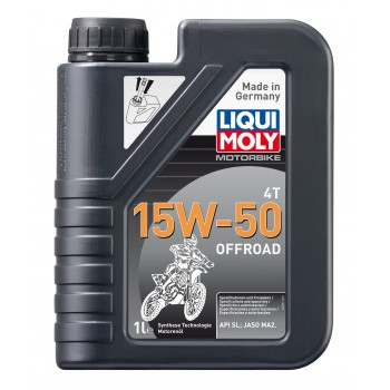 LIQUI MOLY Motorbike 4T 15W50 Offroad 1л 3057