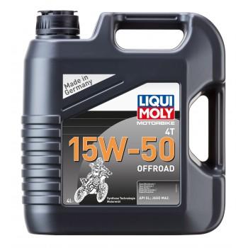 LIQUI MOLY Motorbike 4T 15W50 Offroad 4л 3058