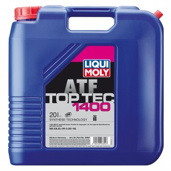 LIQUI MOLY Top Tec ATF 1400 для вариаторов CVT 20л 3692