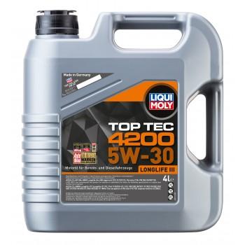 LIQUI MOLY Top Tec 4200 5W30 для Wolkswagen Audi Group 4л 3715