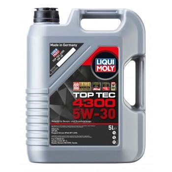 LIQUI MOLY Top Tec 4300 5W30 для PCA, Honda, Toyota, Fiat 5л 3741/8031