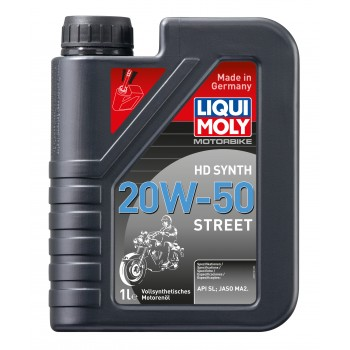 LIQUI MOLY Motorbike 4T HD Synth 20W50 Street 1л 3816