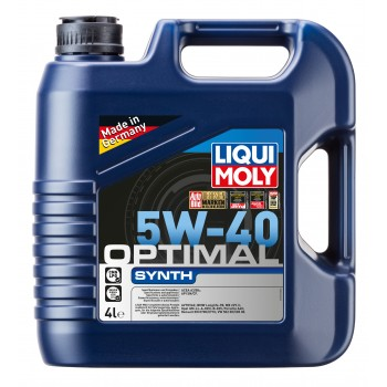 LIQUI MOLY Optimal Synth 5W40 4л 3926