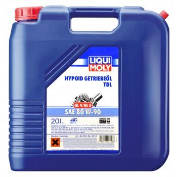 LIQUI MOLY Hypoid-Getriebeoil TDL 80W90 20л 4218