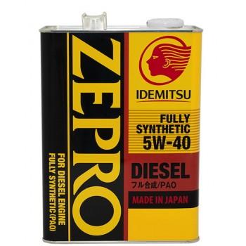 Idemitsu Zepro Diesel F-S 5W40 CF 4л 2863-004