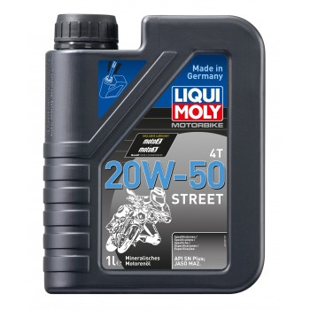 LIQUI MOLY Motorbike 4T Street 20W50 1л 7632