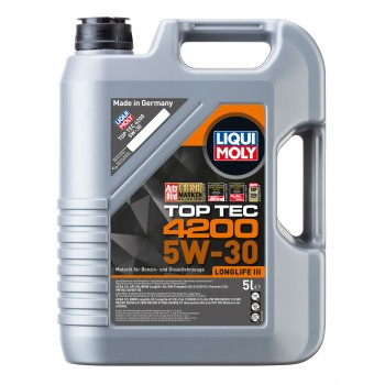 LIQUI MOLY Top Tec 4200 5W30 для Wolkswagen Audi Group 5л 7661