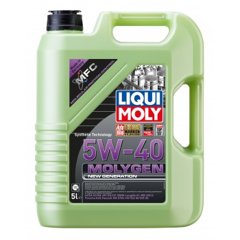 LIQUI MOLY Molygen New Generation 5W40 5л 9055
