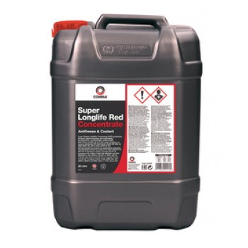 Comma SUPER LONGLIFE RED CONCENTRATED ANTIFREEZE 20л SLA20L