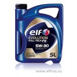 ELF EVOLUTION FULL-TECH FE 5W30 5л 194908