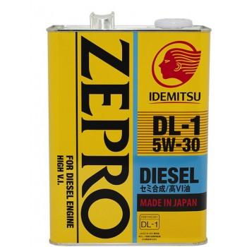 Idemitsu Zepro Diesel DL-1 5W30 4л 2156-004 цена за упаковку 6шт