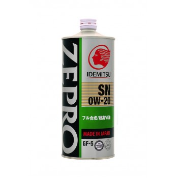 Idemitsu Zepro Eco Medalist 0W20 SN/GF-5 1л 3583-001